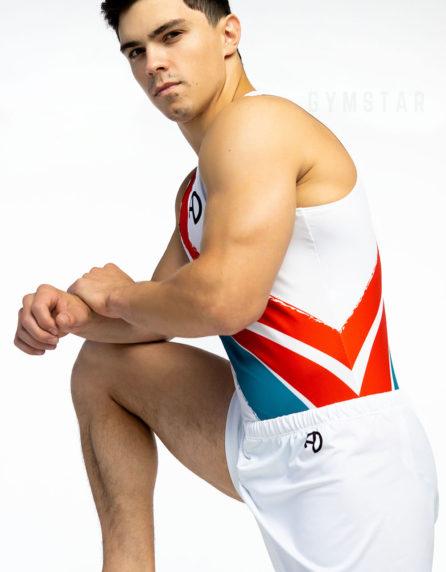 Купальник мужской для спортивной гимнастики