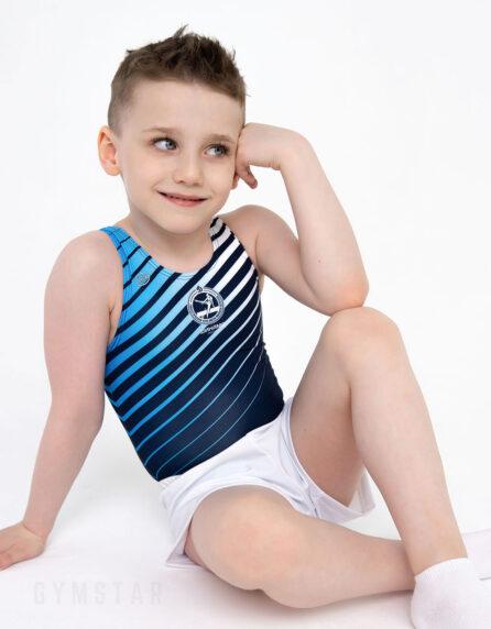 Купальник мужской для спортивной гимнастики Динамо